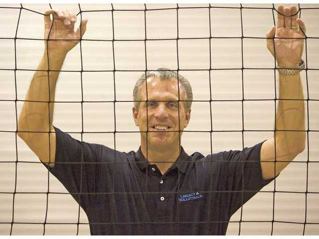 Walt Ker founded the Legacy Volleyball Club in 2008.