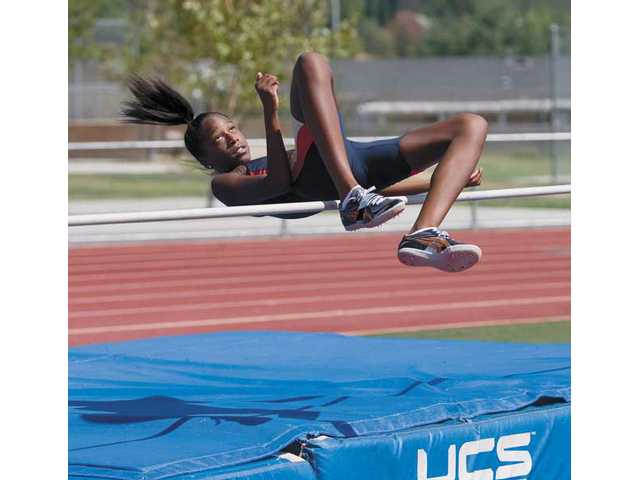 Alexandria Florent, an 11-year-old from Valencia qualified for the USA Track and Field Junior Olympics and the AAU Junior Olympics in the high jump.