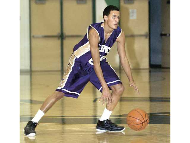 Valencia senior Brennan Bernardino will help the Vikings try to win back the Foothill League crown in 2009-10.