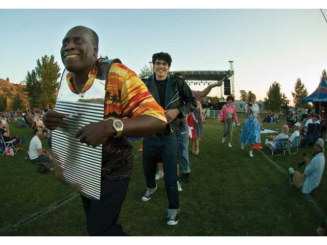 Zydeco band rocks Central Park