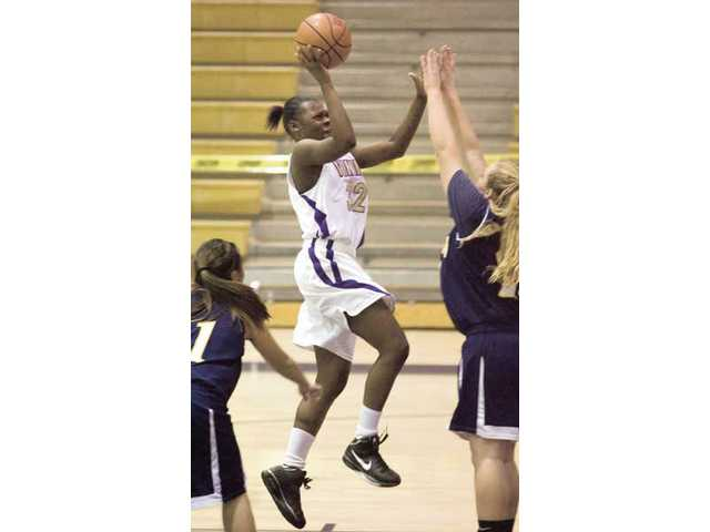 Valencia junior forward Faith Anumba is one of the young talents the Vikings will look toward in the front court to replace departed senior Starla Wright, who led the team in scoring and rebounding.