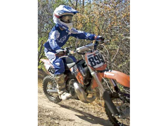 Cody Eaton, a 9-year-old rider from Castaic, will compete at the AMA Air Nautiques Amateur National Motocross Championships from Aug. 1-8 at Loretta Lynn Ranch in Hurricane Mills, Tenn.