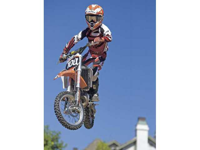 10-year-old Robbie Wageman of Newhall will compete at the AMA Air Nautiques Amateur National Motocross Championships from Aug. 1-8 at Loretta Lynn Ranch in Hurricane Mills, Tenn.