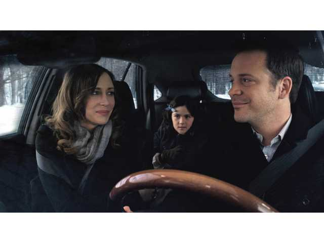 "From left, Vera Farmiga , Isabelle Fuhrmann and Peter Sarsgaard are shown in a scene from, ""Orphan."" The film opens locally this week and Roger Ebert feels it makes some other horror films pale by comparison."