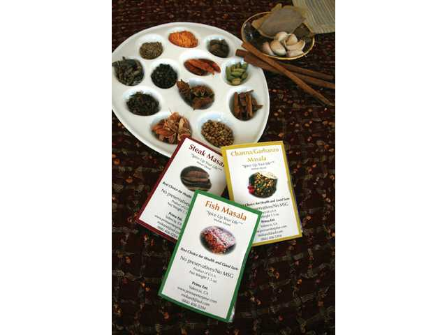 Mohan Sikand uses typical spices as well as some which he imports from India for his own blend of spices for fish, meat and chicken.