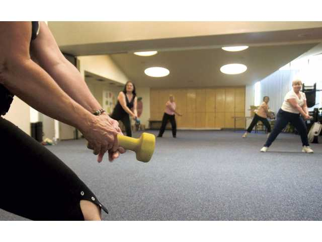 In the one-hour class, participants do moves from hip-hop, yoga, Pilates, jazz dance, kickboxing, and resistance training.