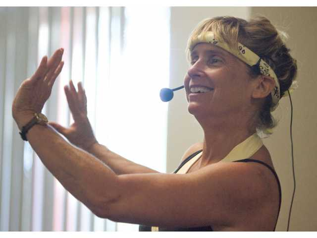 Jazzercise instructor Nancy Soukup, of Castaic, has been leading locals in exercise routines for nine years at the Castaic Sports Complex. The Jazzercise class is offered Monday, Wednesday and Thursday evenings, and on Saturday mornings.