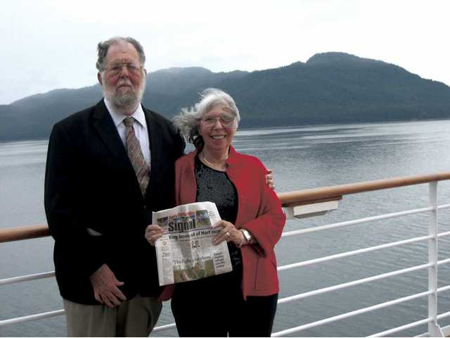 Judd and Jeannie Honadel celebrated their 50th wedding anniversary with a cruise to Alaska with all of their children and grandchildren.