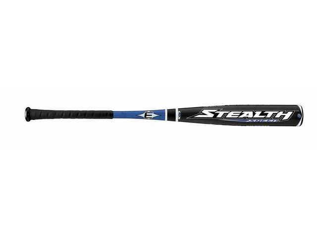 The Stealth Speed bat is made of composite materials that give the bat the lightest barrel design yet.