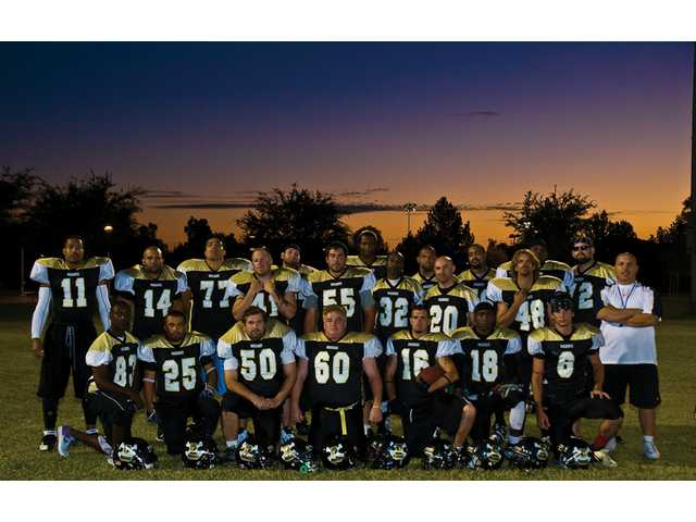 The Santa Clarita Maddogs are a group of local semipro football players in the LaBelle Community Football League West. They play at high schools around the Santa Clarita Valley. The team's first game this season was June 14.