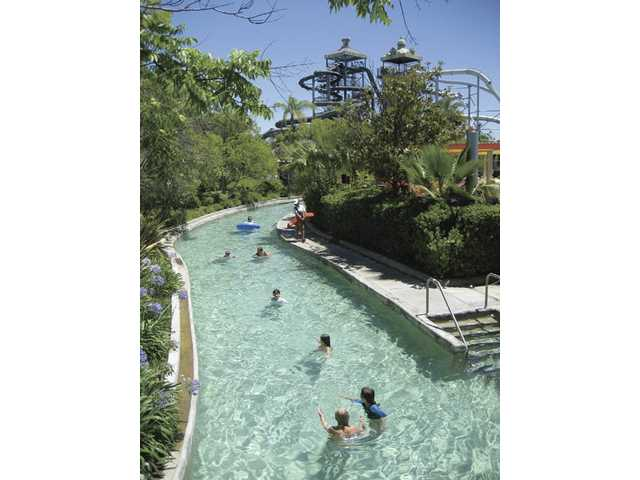 Cool activities await you at Hurricane Harbor.