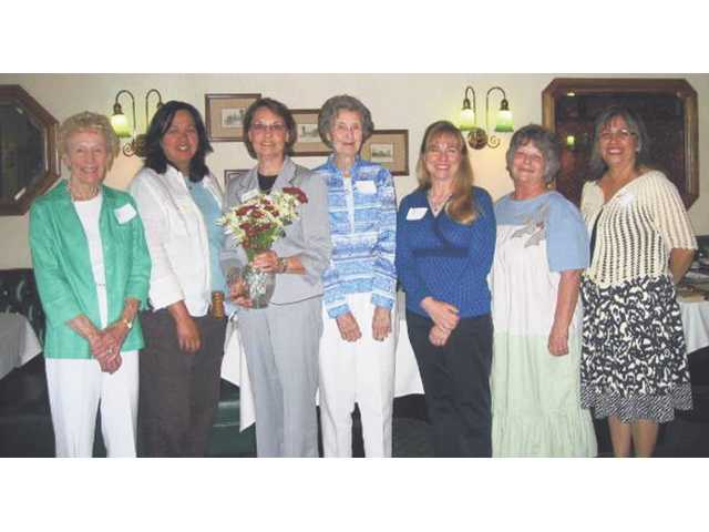 AAUW installs new officers for 2009-2010
