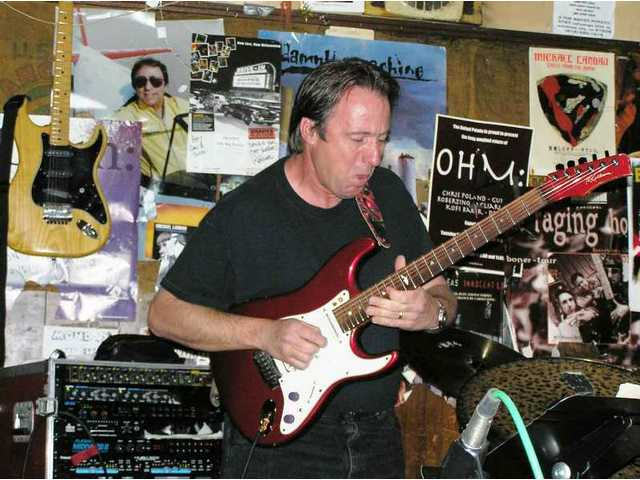 Joe Elliott, Musicians Institute VP, rips a solo during a Mama-O show at the famed Baked Potato in North Hollywood. He'll be on the judges panel on SCV Rock Star Night at the Santa Clarita Sports Complex Friday, Sept. 19.