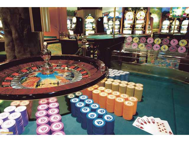 Many cruise ships include casino gambling among their entertainment options.