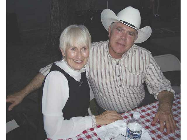 City Councilwoman Laurene Weste and husband James McCarthy are regulars at Silents Under the Stars.