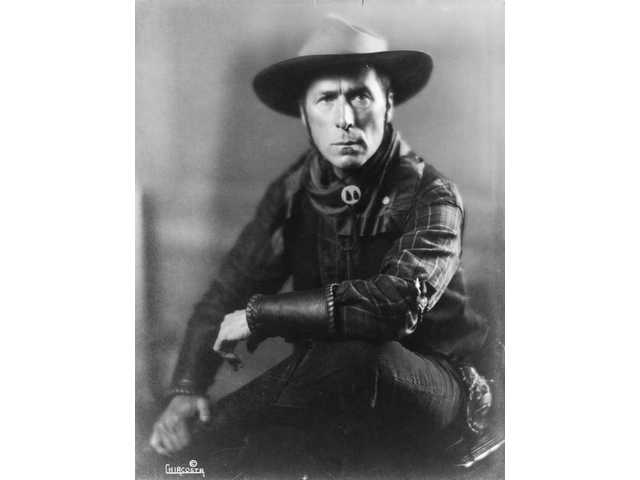 "William S. Hart, also known as ""Two-Gun Bill,"" appeared in a number of silent westerns during the late 1910s and early 1920s."