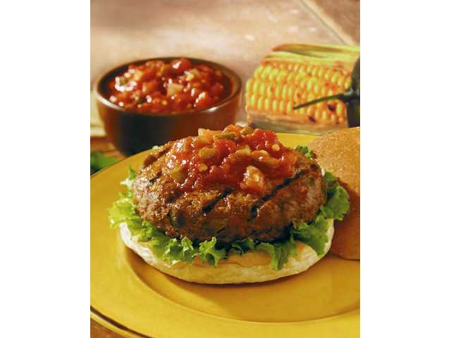 Sizzling Picante Burgers