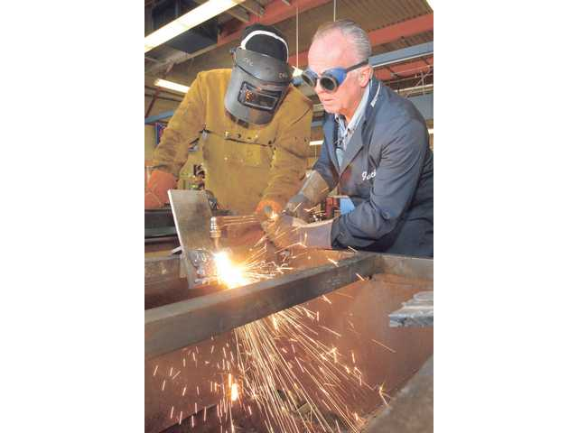 Instructor sparks passion through welding classes