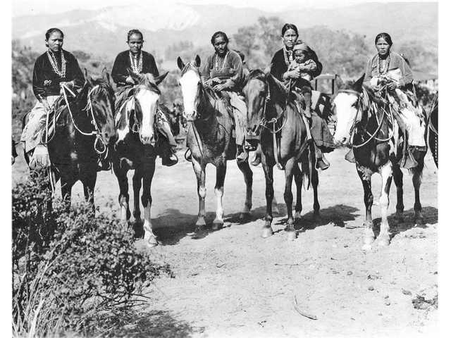 Carey hired Navajo Indians to maintain his ranch.