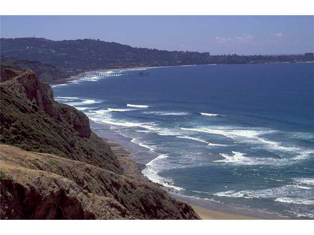 The breathtaking shoreline at La Jolla.