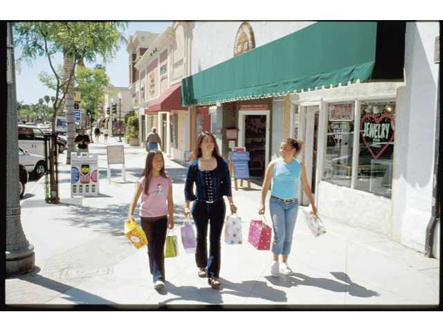 Ventura offers plenty of shopping.