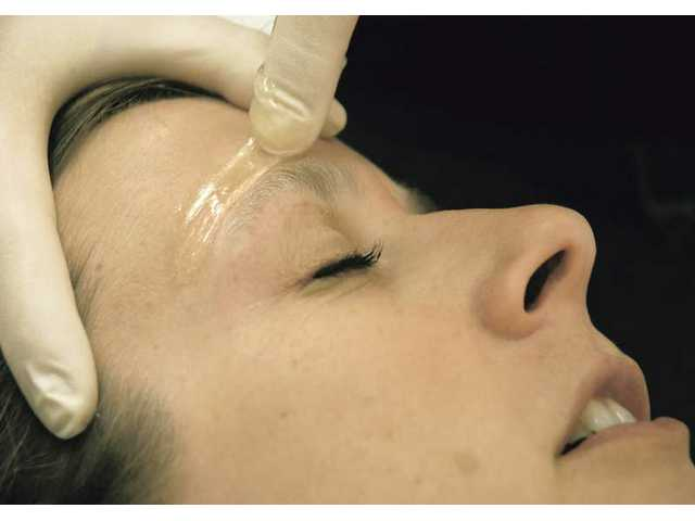 Sugaring can be used on eyebrows, legs, back, bikini lines, lips, and wherever else a client would like their hair removed.