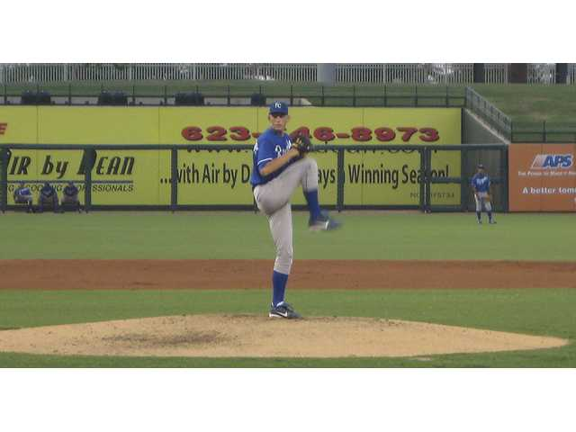 Surprise Royals and former Hart pitcher Michael Montgomery was stellar in his first pro season.
