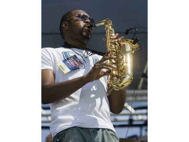 San Diego saxophonist JB Saxx kicked off the Santa Clarita Jazz Festival on Saturday afternoon at Valencia Country Club