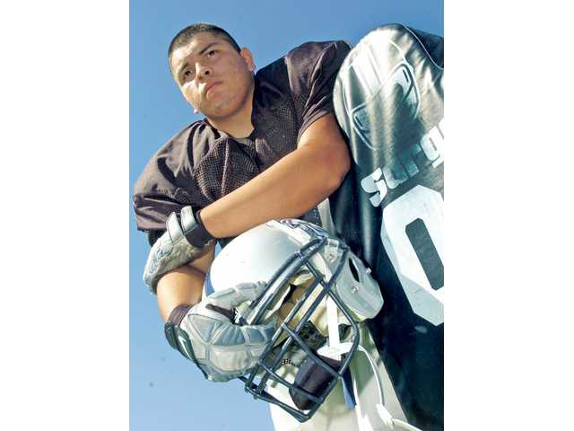 Saugus  senior Melqui Lemus will help anchor the Centurions' defense from the line of scrimmage. Lemus earned All-Foothill League honors as a junior and hopes to improve upon that in 2009.