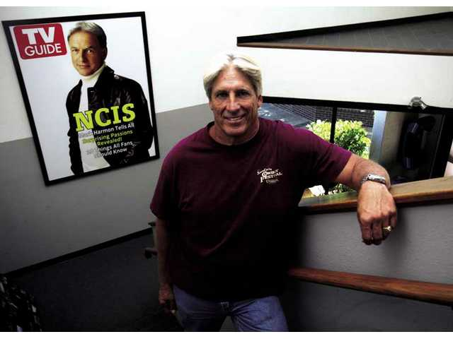 """NCIS"" stunt coordinator and Emmy nominee Diamond Farnsworth heads to his upstairs office at Belisarius Productions in Santa Clarita."