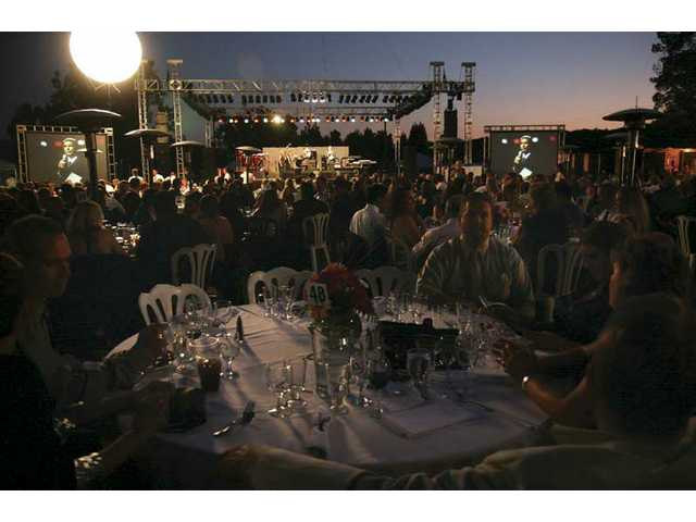 """Evening Under the Stars"" was held at the Mann Biomedical Park in Valencia."