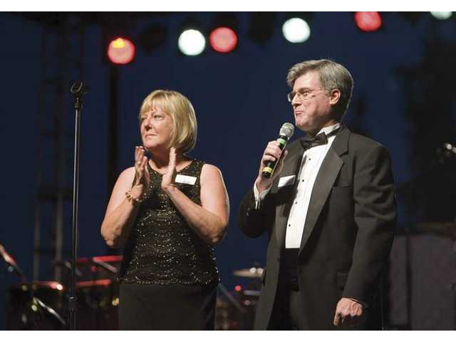 Co-founders of the Michael Hoefflin Foundation for Children's Cancer Sue and Chris Hoefflin.