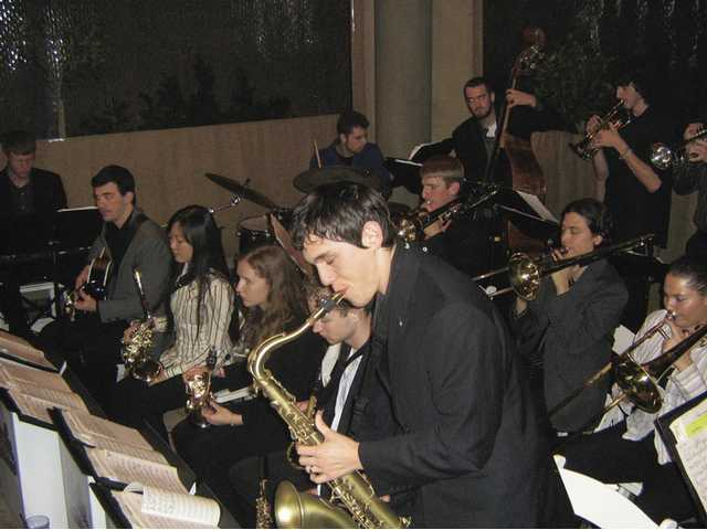The UCLA Orchestra performs at The Roast House, where a variety of types of music can be enjoyed, from classic rock to classical.