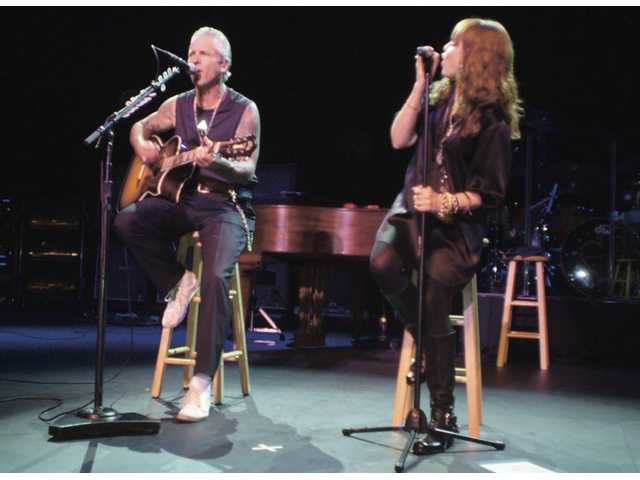 Neil Giraldo and Pat Benatar celebrated the 30th anniversary of Benatar's 1979 debut album with a tour, including a Sept. 11 concert at the Santa Clarita Performing Arts Center.