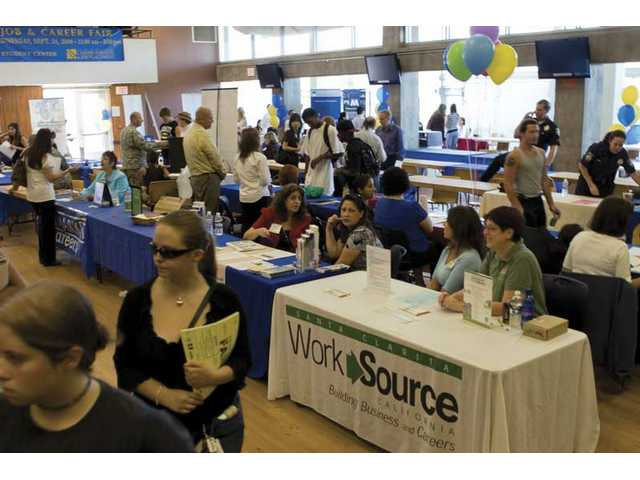 COC's job fair attendance up
