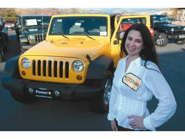 "Kerianne Mowry of Valencia won a 2008 Jeep Cherokee Jan. 7 on ""The Price is Right,"" in addition to a Lang dinette set. Mowry will receive her prize from a local dealer within 30 days of Wednesday's air date at 10 a.m. on CBS."