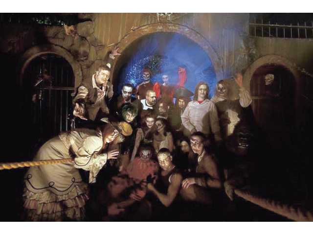 More than 200 ghouls will roam the park nightly during Fright Fest.