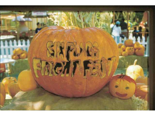 Six flags Magic Mountain's annual Fright Fest will include two new mazes and a scare zone. From Oct. 3 through the end of the month, the park is open Friday through Sunday.