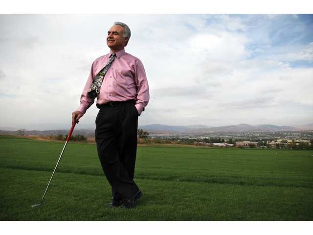 Mehran Abbassian, D.D.S., one of the founding members of the Tournament Players Club in Stevenson Ranch is curious to see what will happen to the course in the future.