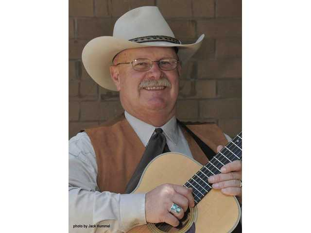 Singer/songwriter John Bergstrom will entertain at Newhall's OutWest boutique this Saturday night.