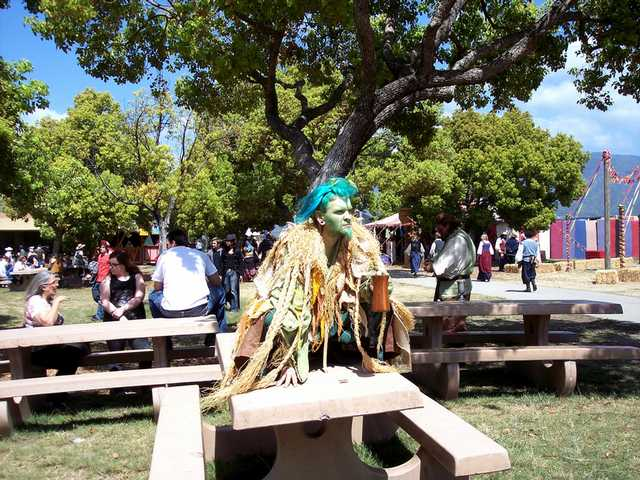 All manner of real and mythical creatures inhabit the Renaissance Pleasure Faire.