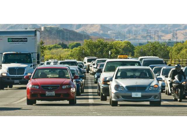 Traffic is one of the most complained-about issues in the Santa Clarita Valley.