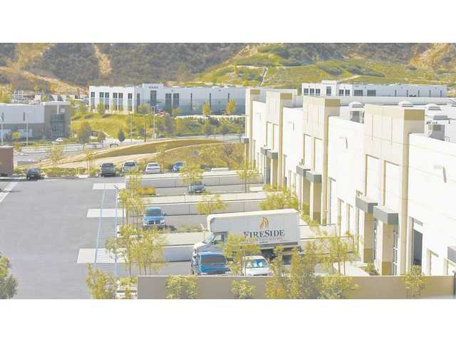 The Valencia Industrial Center, near Constellation Avenue and Kelly Johnson Parkway, is among new business parks that the city hopes will provide jobs for Santa Clarita Valley residents.