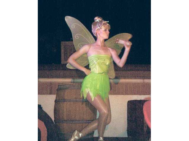 CTG actress Rebecca Coombs spread her pixie dust throughout the audience as Tinker Bell.