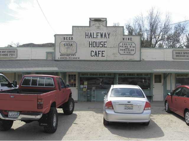 The Halfway House Café has been the setting for countless movie, TV show, commercial and photo shoots.
