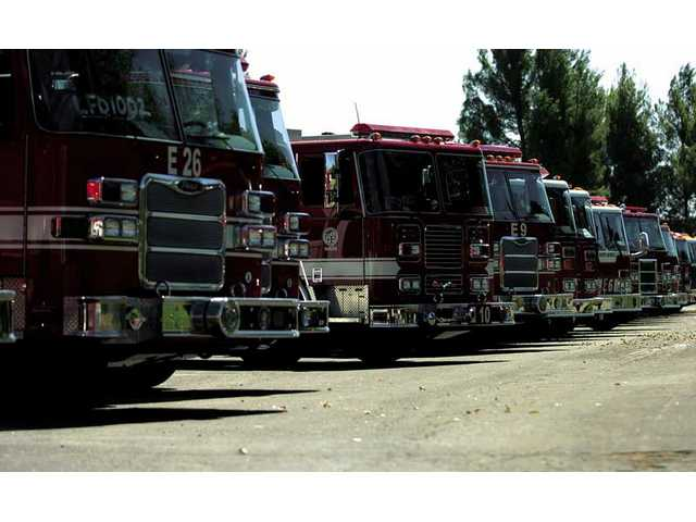 More people means a need for more firefighters who will need more equipment to battle blazes in urban, suburban and rural areas of the Santa Clarita Valley in the years ahead..