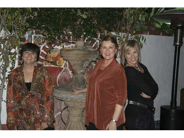 "Joan Enguita, Trish Lester and Linda Geleris, members of the all female 14-member Women on the Move, will perform songs from the album ""Beautiful"" at the free ""Domestic Awareness Concert"" on Oct. 23 to benefit the Santa Clarita Valley's Domestic Violence Center."