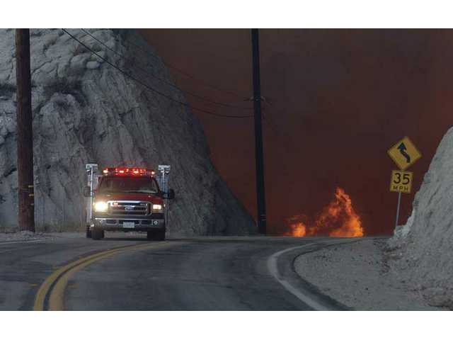 Wildfires scorched nearly 60,000 acres in or around the Santa Clarita Valley a year ago this week.  The Angeles National Forest was particularly hit hard.