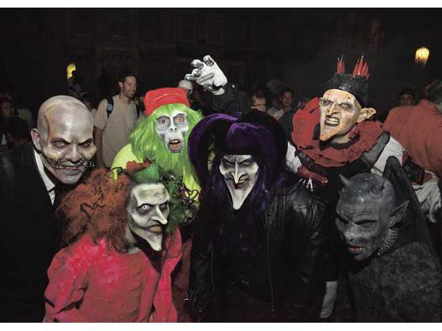 A host of ghouls await you at Fright Fest at Six Flags Magic Mountain. There are haunted mazes, too.