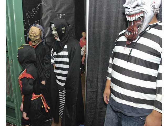 Locally, the Sheriff's Haunted Jailhouse includes a few surprises. Besides the Haunted Jailhouse Tour, there will be game booths, clowns, food and costume contests for different age groups.